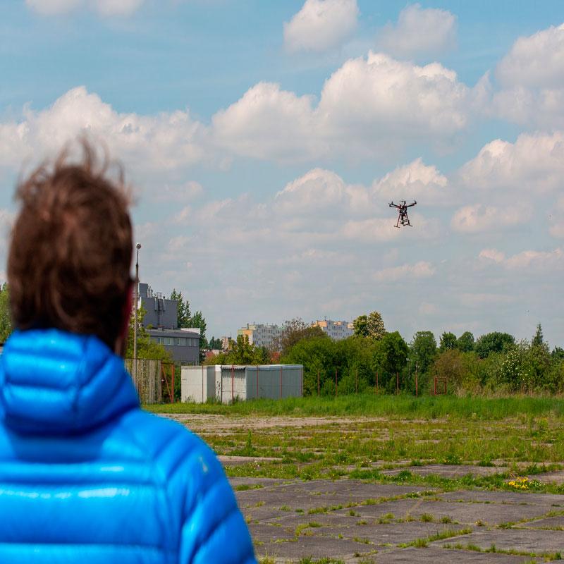 Realizar videos con drones