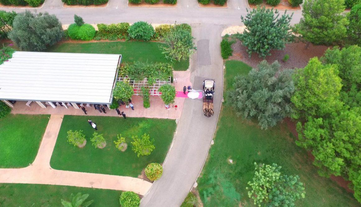 Un dron en tu boda y drones para eventos