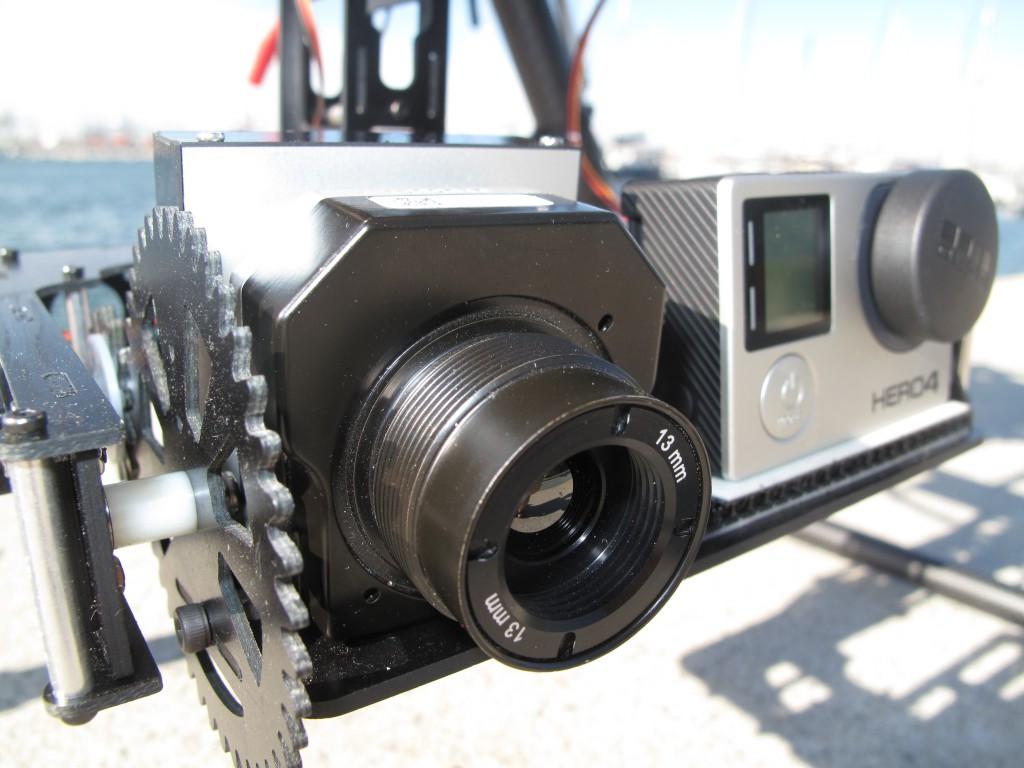 dron termografico