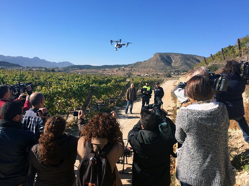 drones al servicio de tu Ayuntamiento Novelda