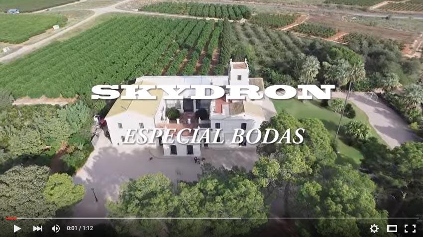 Fiesta y Boda Valencia: drones última tendencia