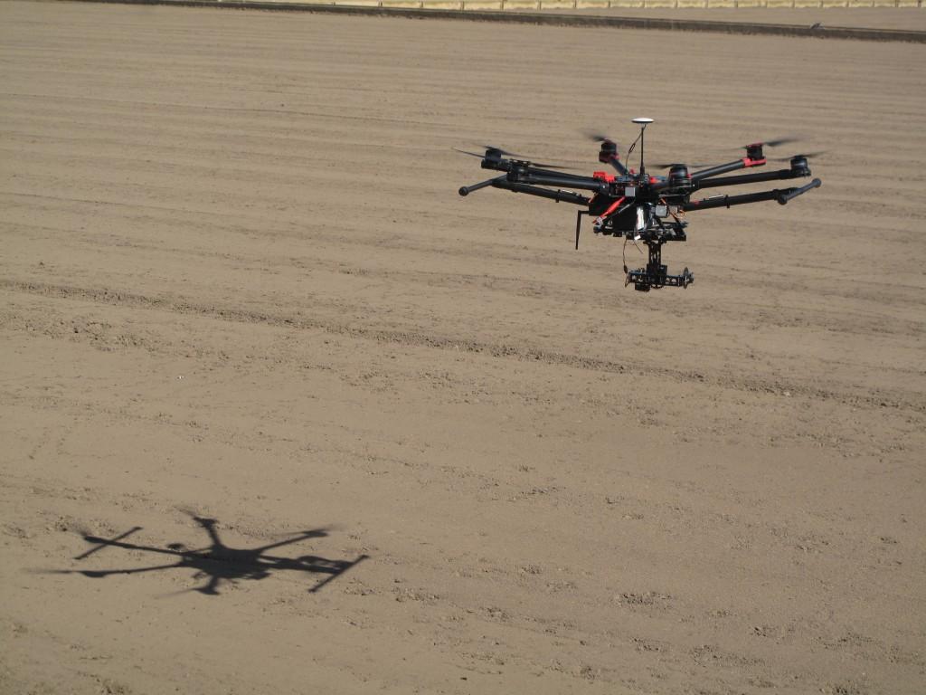 Nuestros drones vigilarán los campos de Novelda