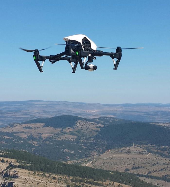 drones en valencia vigilancia forestal