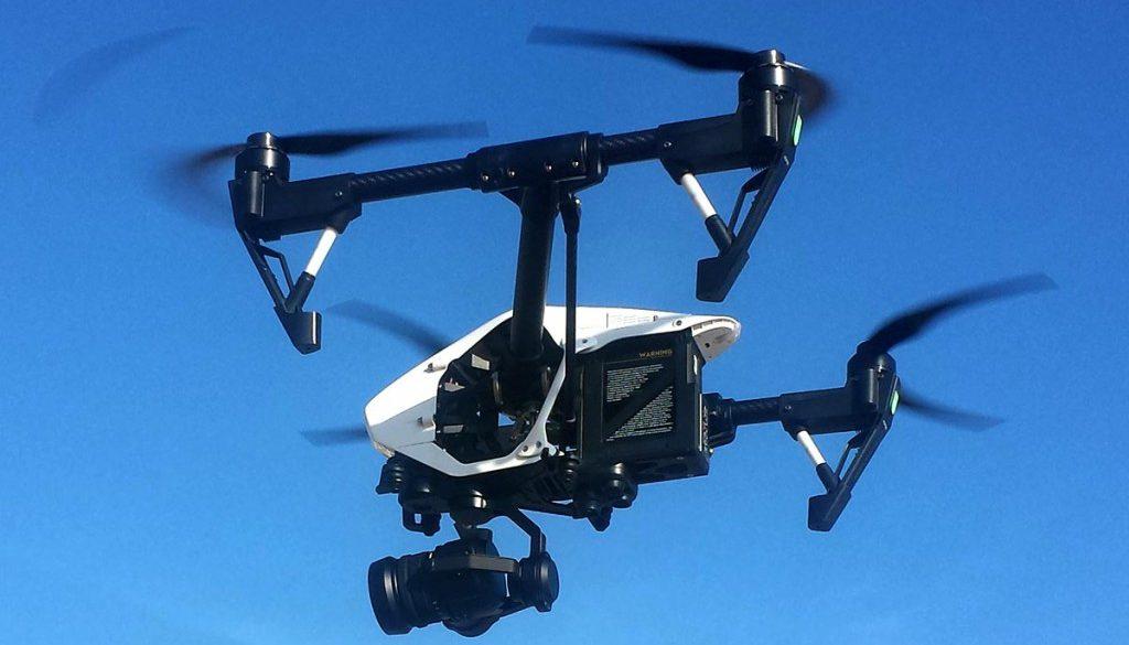 cámara profesional para drones