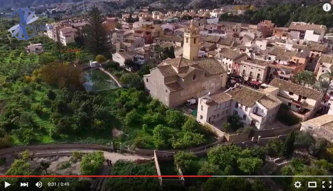 Vídeo con drones para tu pueblo