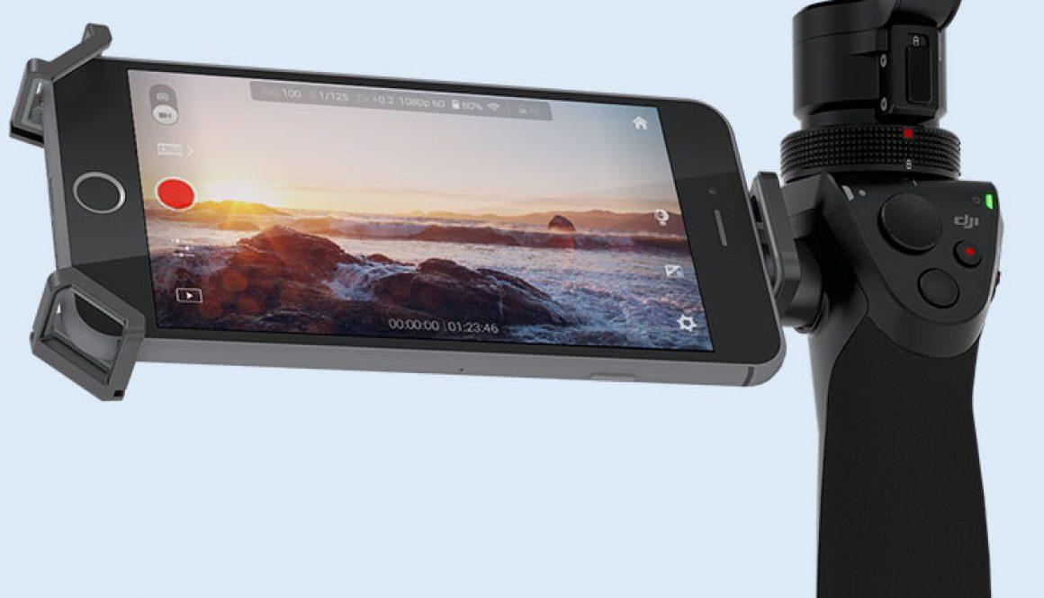 DJI Osmo soporte para las cámaras de nuestros drones