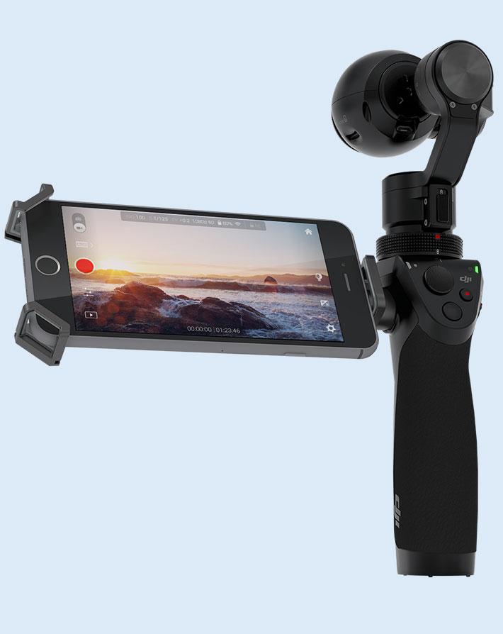 Nuevo soporte para las cámaras de nuestros drones