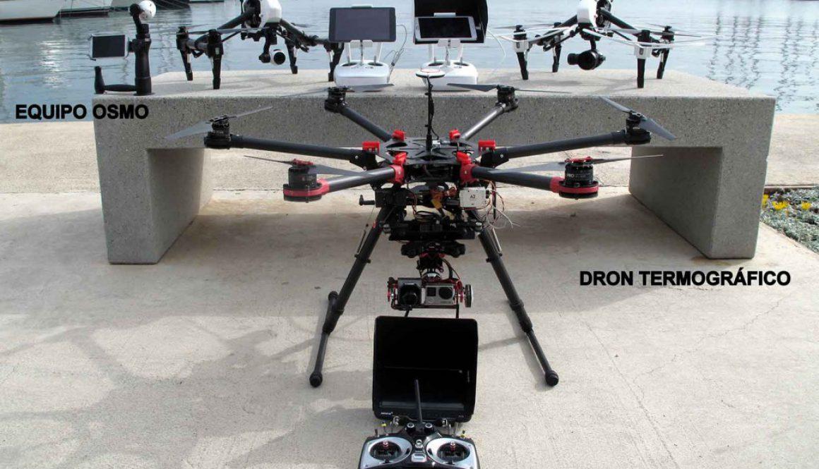 Drones para termografía crecemos en familia
