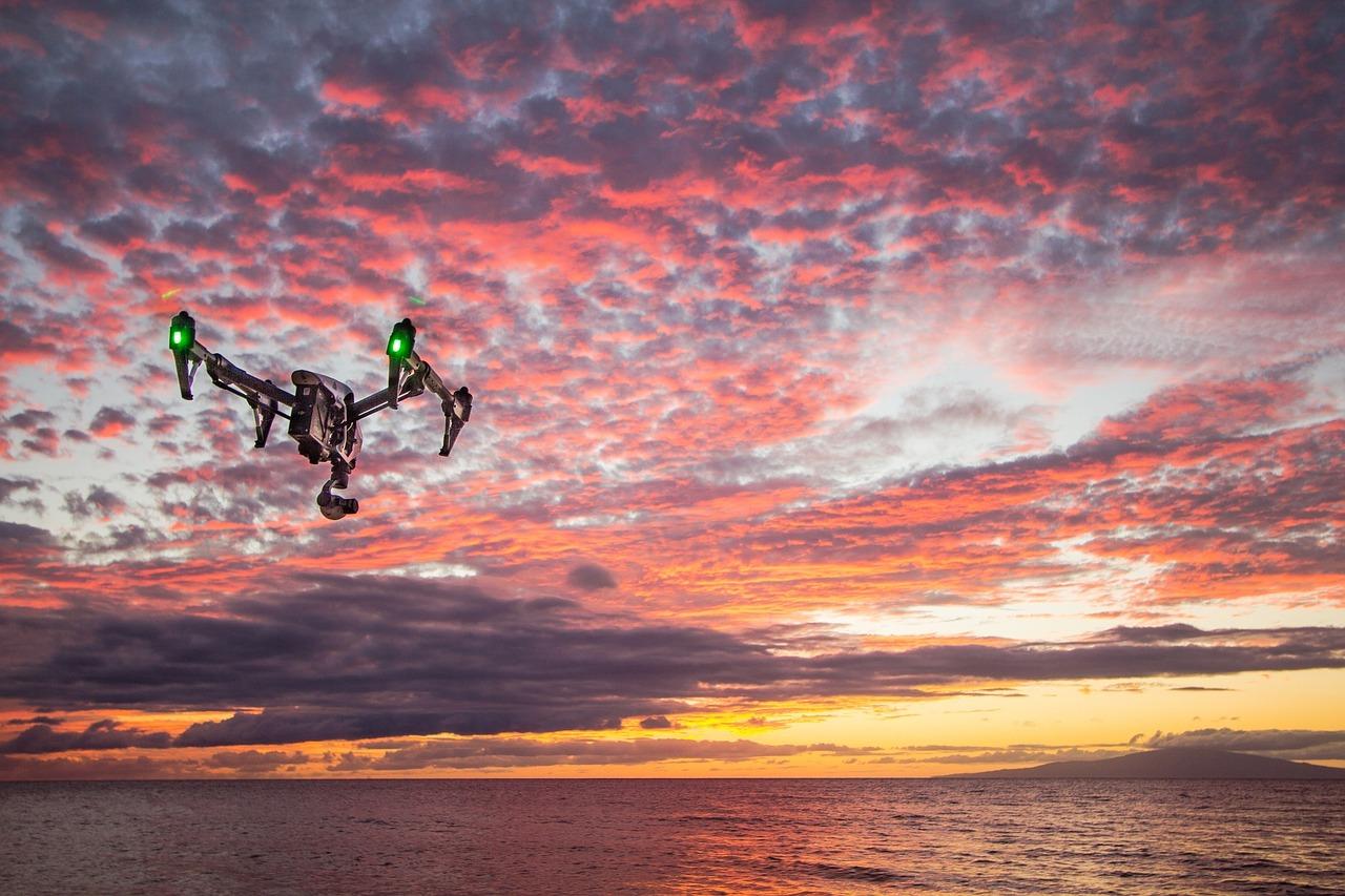 Grabaciones aéreas con drones