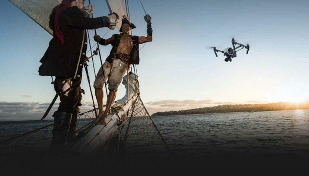 Grabaciones Aéreas Con Drones Cámara 4K RAW Por Skydron