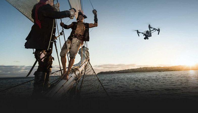Grabaciones aéreas con drones 4K RAW por Skydron