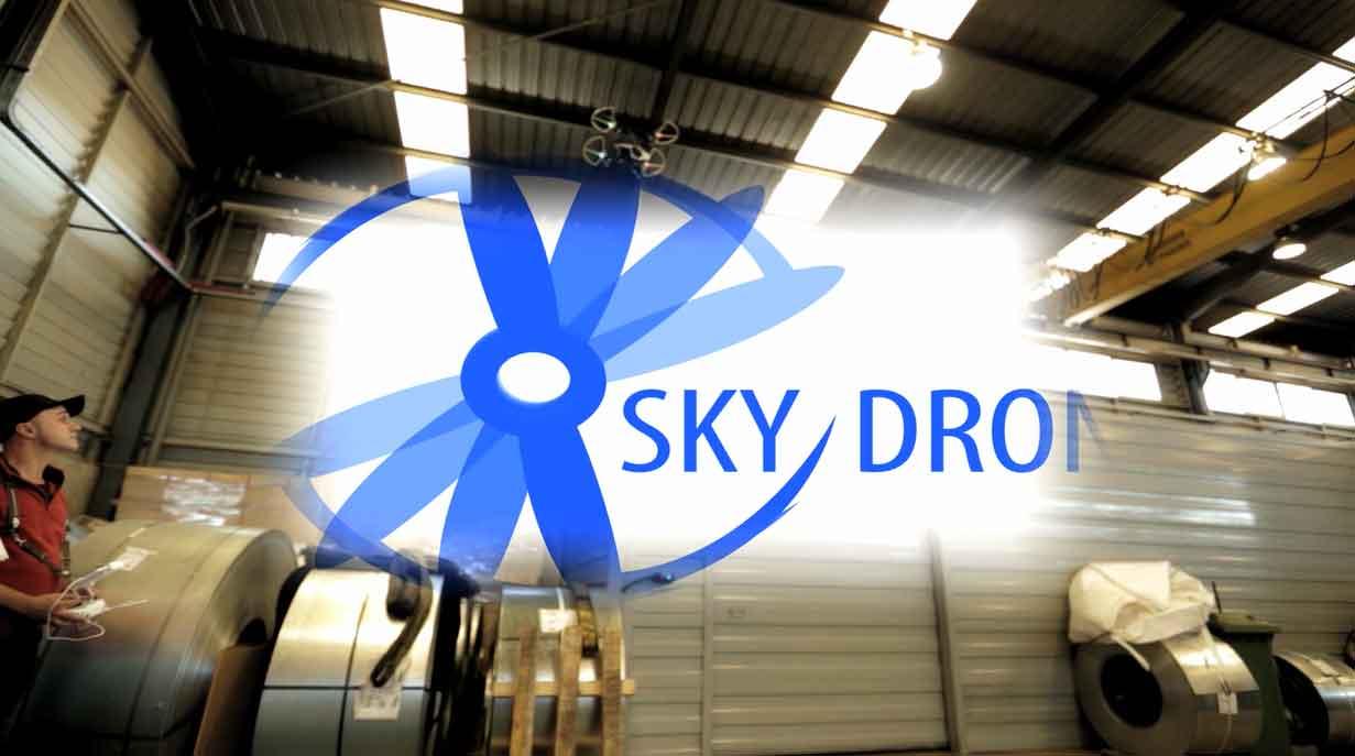 Vídeo de empresa con drones por Skydron