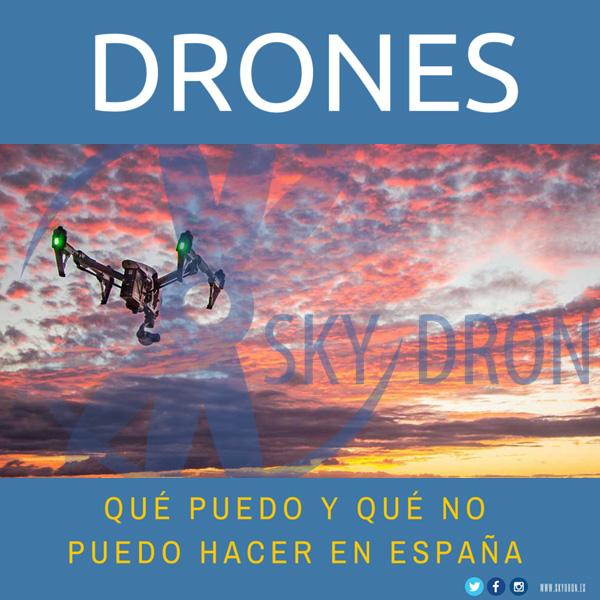 ¿Qué puedo hacer con mi dron?