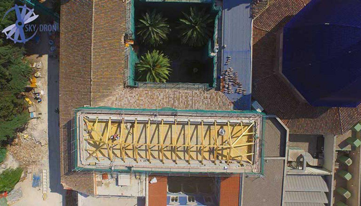 Inspección de obras con drones en Valencia, Madrid y toda la península de España
