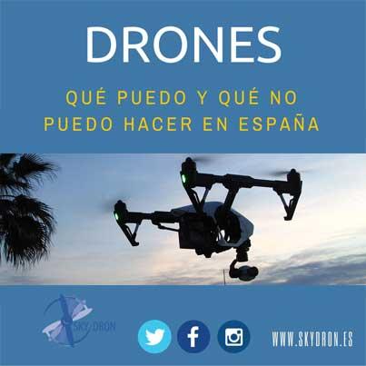 ¿Qué puedo hacer con mi dron? ¡Nueva infografía!