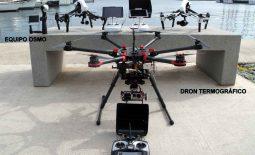 Alquiler Drones profesionales con cámara HD España