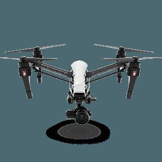 Alquiler Drones profesionales con cámara HD España DJI Inspire 1