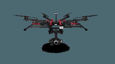 Alquiler Drones profesionales con cámara HD España DJI S900 Dron Termográfico