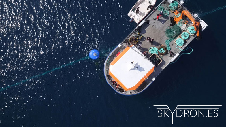 Empresa de drones profesionales Skydron.es para grabación aérea e inspección técnica