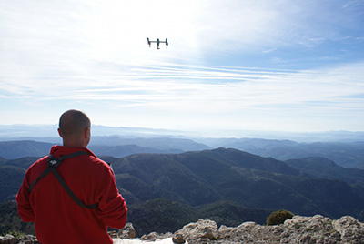 Empresa de drones y piloto Valencia España