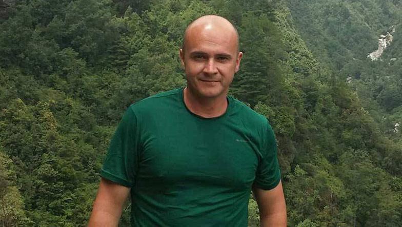 Piloto de drones profesionales César Antón