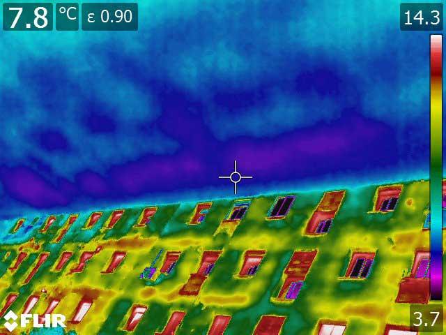 Termografía aérea con drones y cámaras termográficas