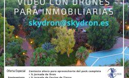 Vídeo y fotografía para inmobiliarias con Drones.