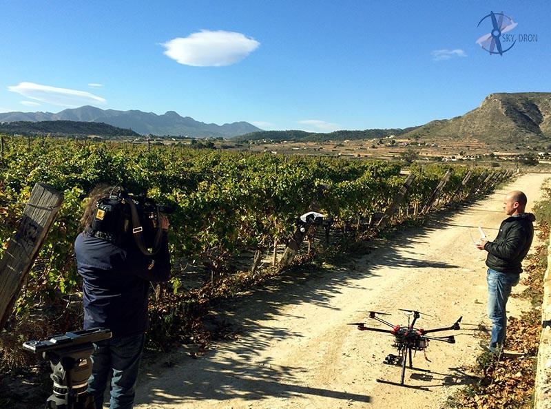 Vigilancia de campos y cultivos con drones