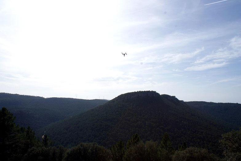 Nuestros drones en Boniches, Serranía de Cuenca