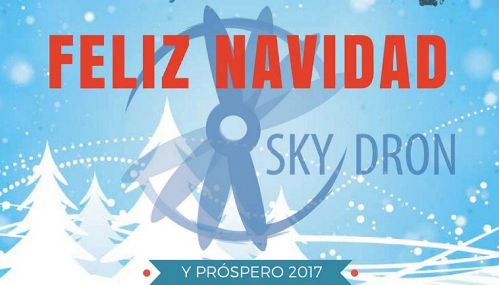 Skydron os desea Feliz Navidad y Próspero Año Nuevo - 2017