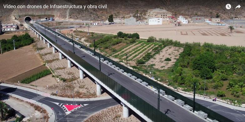Vídeo corporativo de obra civil para METALESA, SEGURIDAD VIAL en el AVE San Isidro-Orihuela