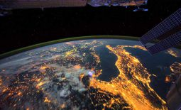 Video de la tierra desde la estación espacial internacional