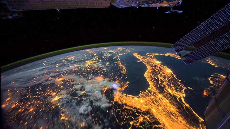 Espectacular vídeo de nuestro planeta visto desde la Estación Espacial Internacional