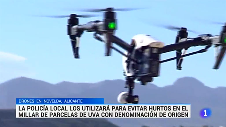 drones novelda uvas rtve