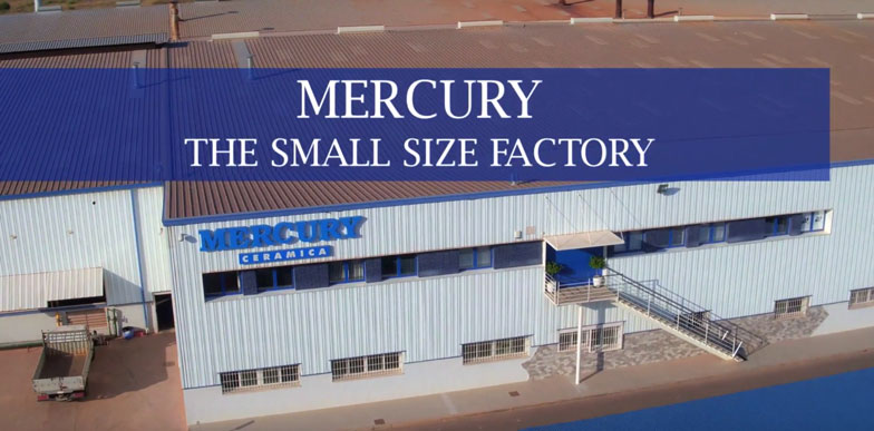 Nuevo vídeo de empresa para Mercury Cerámica por SKYDRON.ES