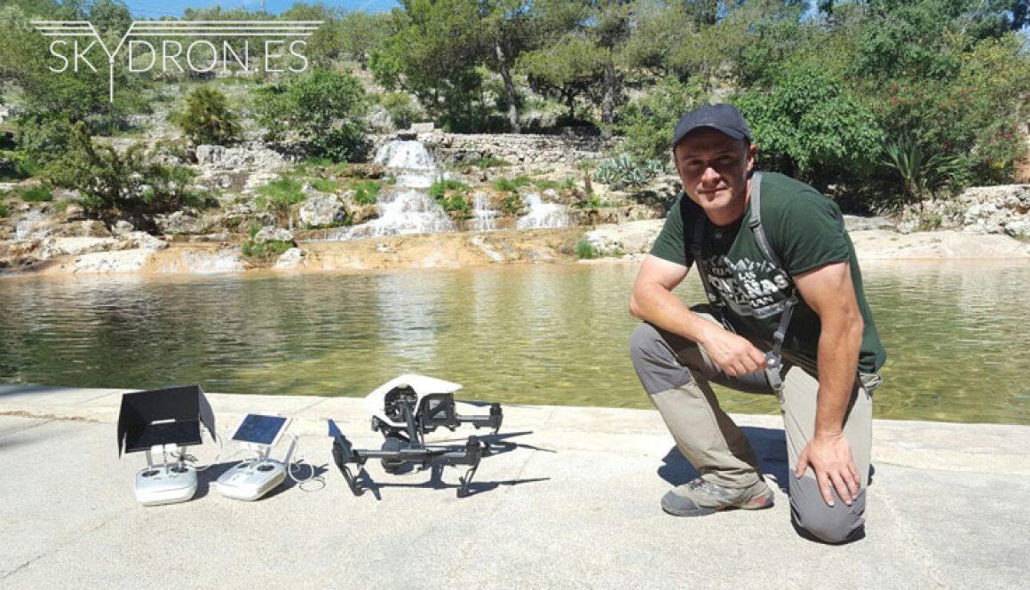 Naturaleza drones Casa Rural El Lago - Skydron.es