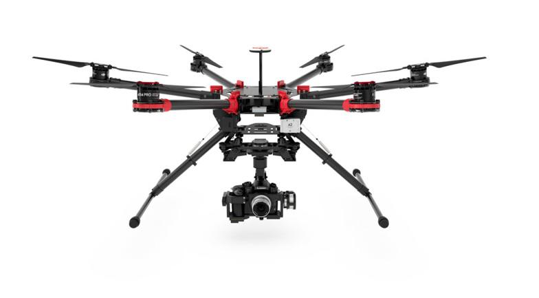 Drone DJI S900 para trabajos técncios de Skydron.es