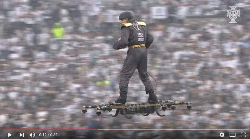 ¿Jugaremos al fútbol aéreo con drones?