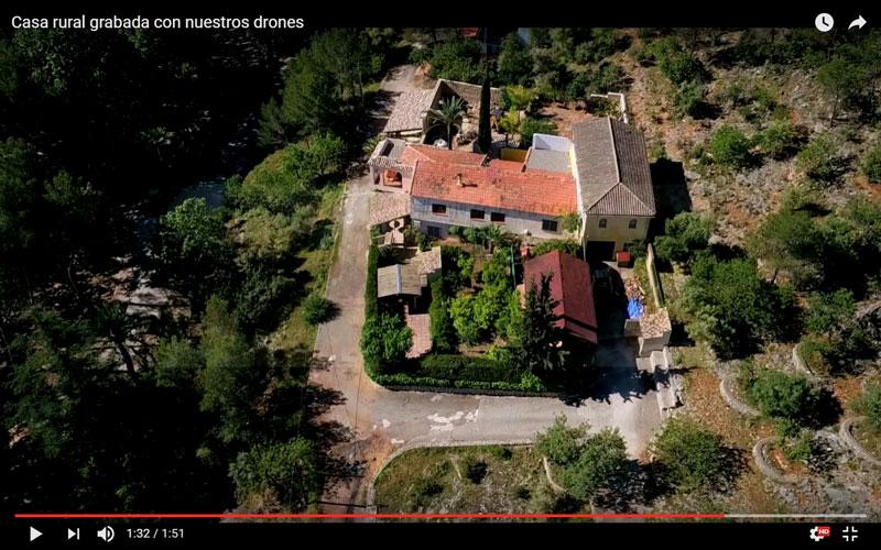 Vídeo promocional para Casa Rural El Lago