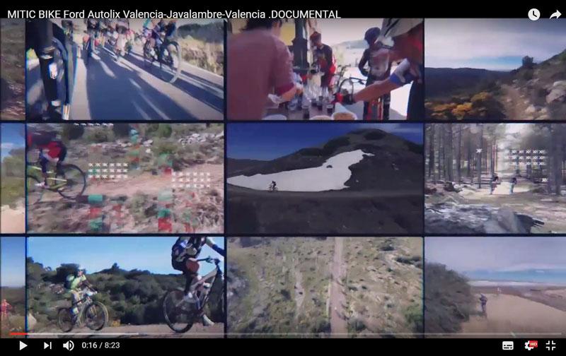 Vídeo completo de la Mitic Bike con drones y Osmo