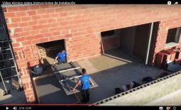 Vídeo técnico con nuestros drones sobre instrucciones instalación lámina Arklam