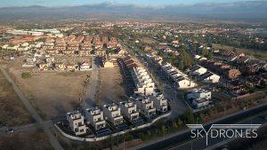 Grabación con drones para inmobiliarias de grandes fincas, viviendas, alto standing y lujo