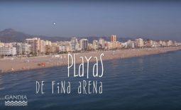 Trabajamos en el vídeo de promoción turística de Gandía FITUR 2018
