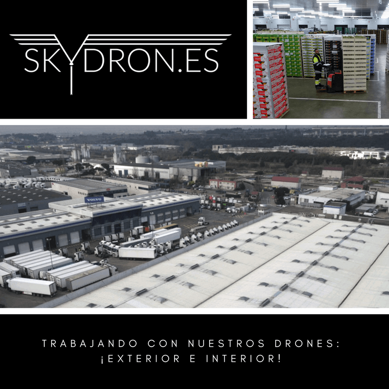 Trabajando con nuestros drones: exterior e interior