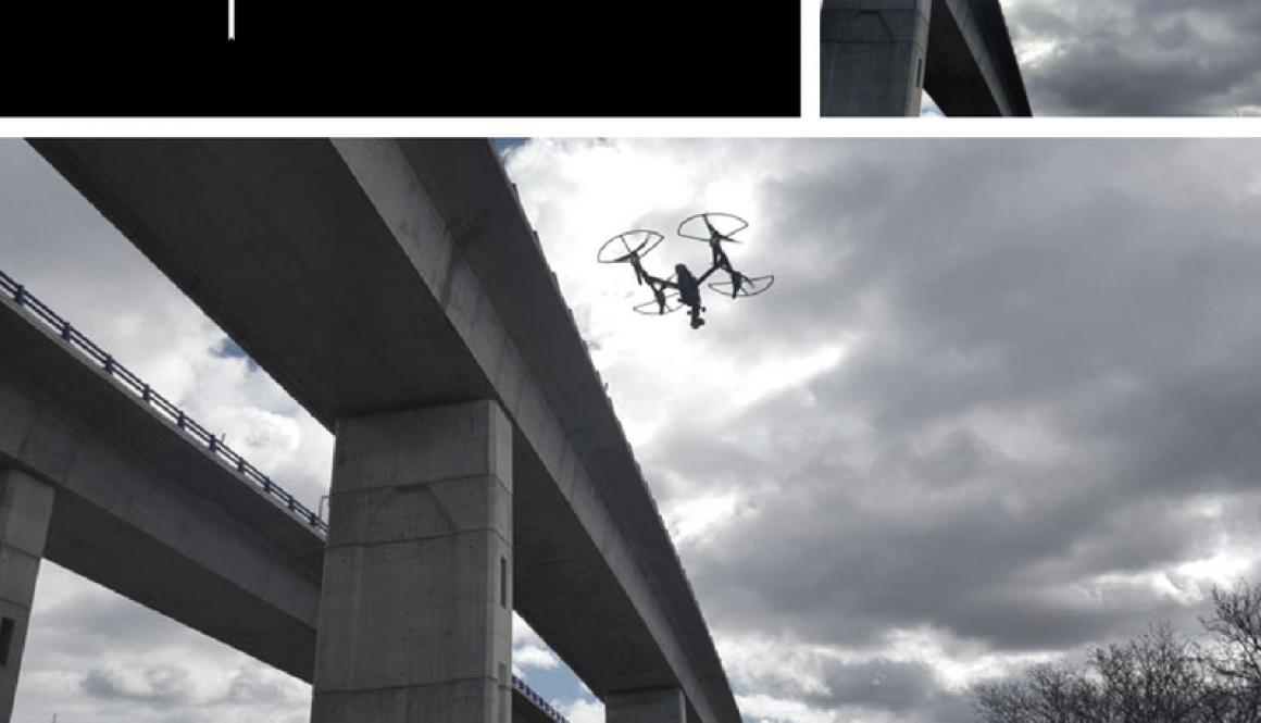 Trabajando con nuestros drones: ¡ojo con las grandes estructuras metálicas!