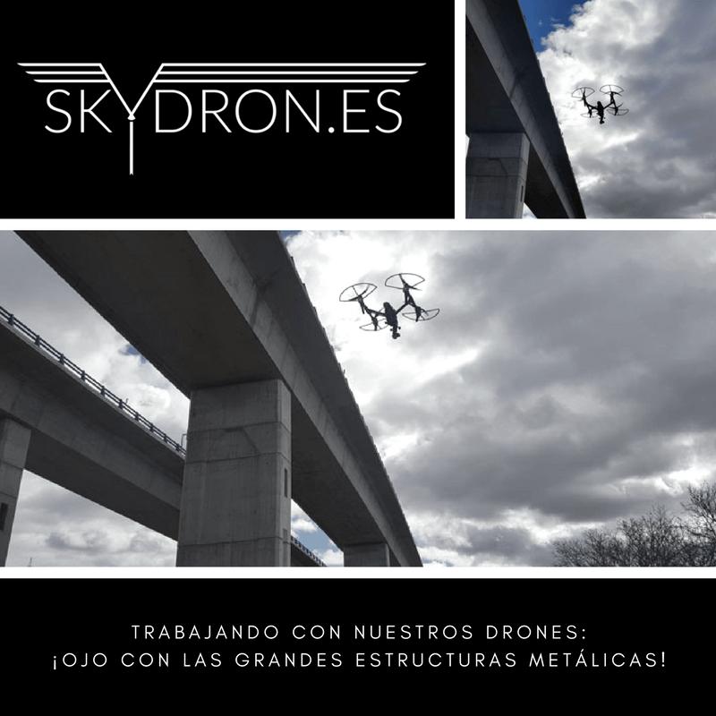 Trabajando con nuestros drones