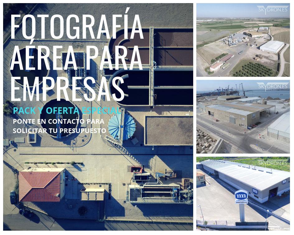 Fotografía aérea para empresas