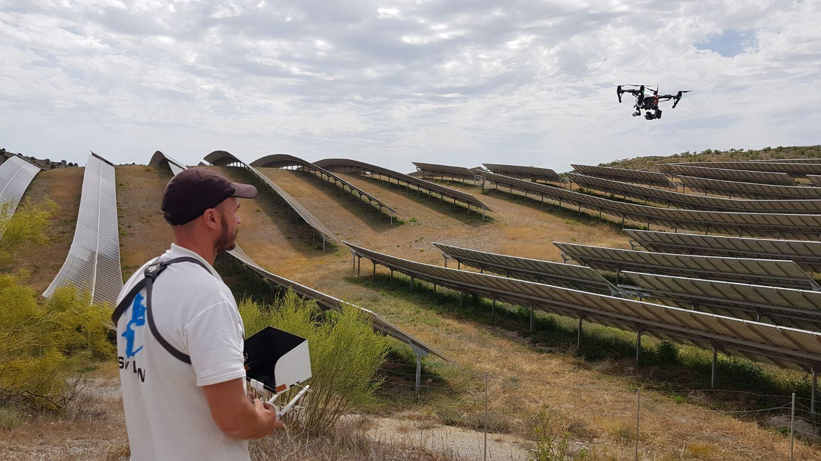 Alquiler de drones con piloto