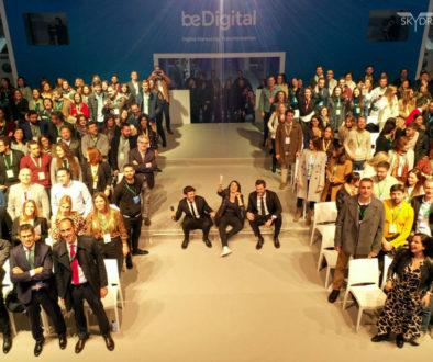 Nuestros drones en el Be Digital Life de Google en Madrid