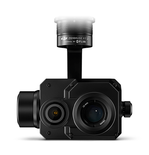 Cámara dual infrarroja y 4K DJI Zenmuse XT2 con sensor FLIR Tau 2